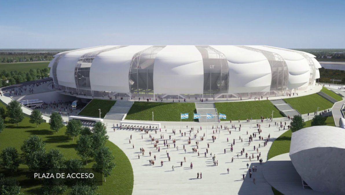 El estadio de Santiago del Estero es ÚNICO
