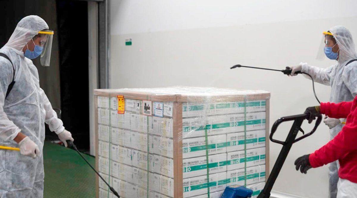 Jujuy recibirá 7.200 dosis de la vacuna Sinopharm