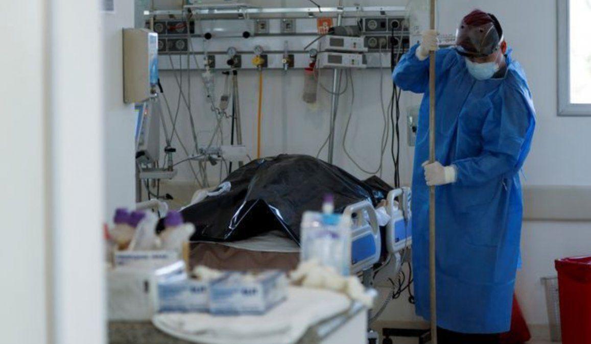 Con 384 nuevas muertes, Argentina superó los 26.000 fallecidos por coronavirus
