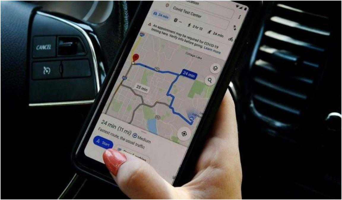 Google Maps comenzará a dirigir a los conductores por rutas ecoamigables