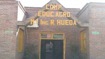 Una escuela abandonada en Perico: