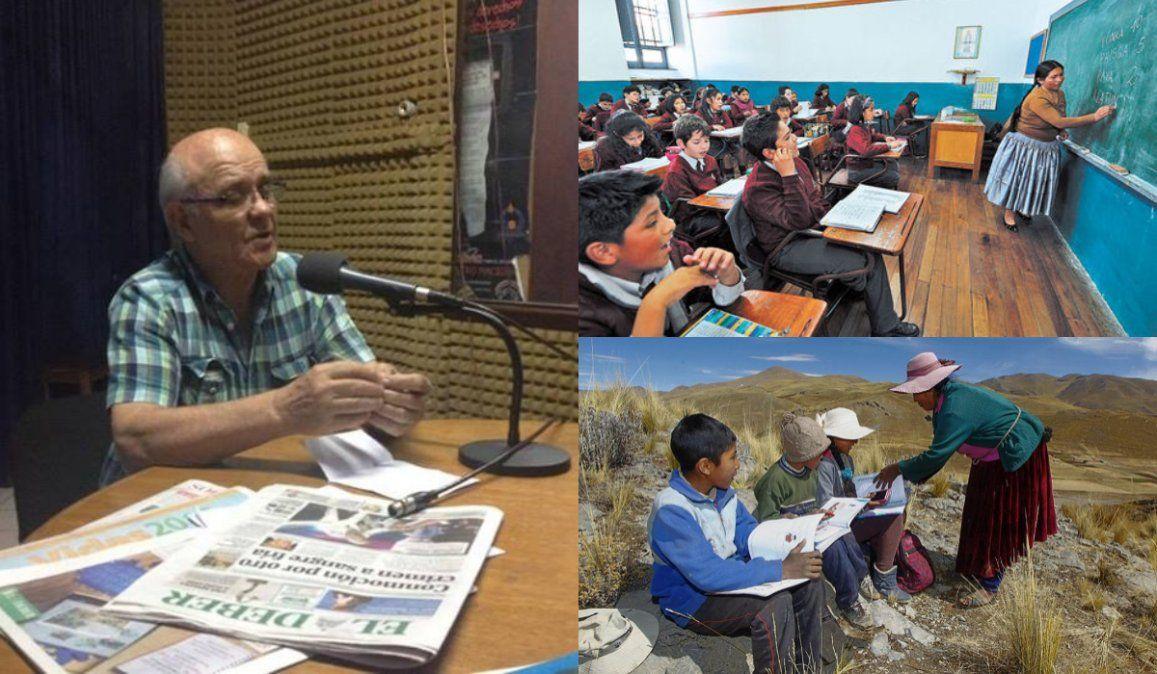 En Bolivia todos pasan de año sin aplazos: Es un empobrecimiento general de la calidad educativa