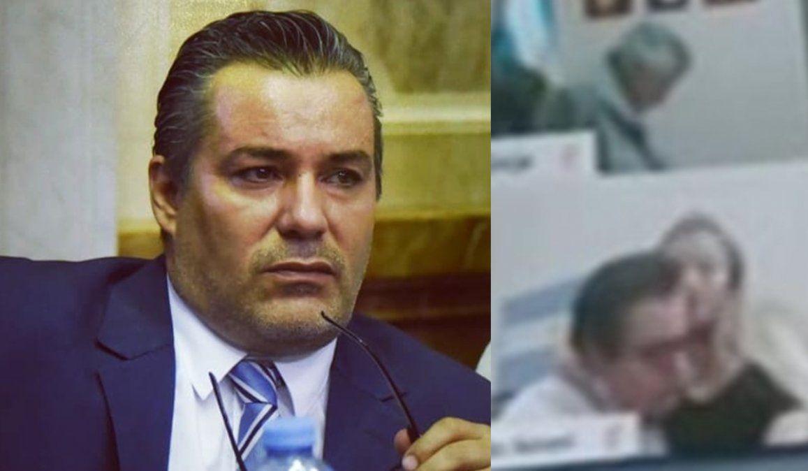 Tras la escena sexual en plena sesión, suspendieron al legislador por Salta Juan Ameri