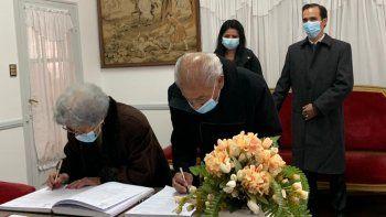 Abuelos jujeños se casaron a los 92 años, sus nietos fueron los testigos