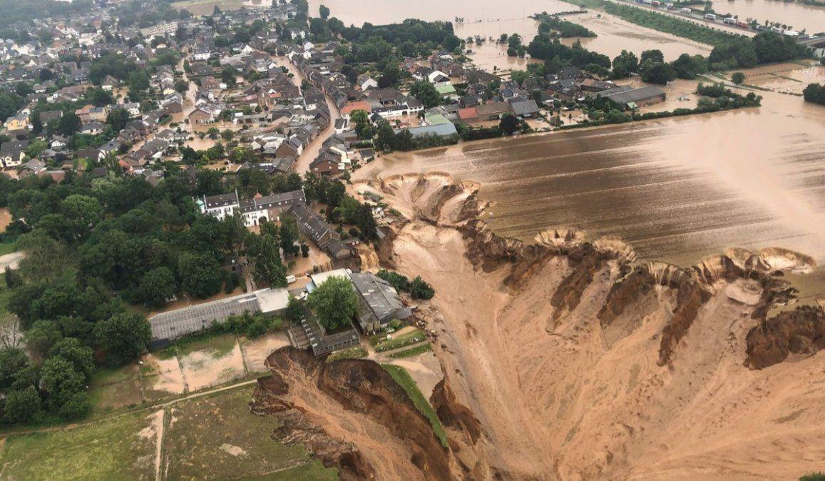 Al menos 103 muertos y 1.300 desaparecidos por las inundaciones de Alemania