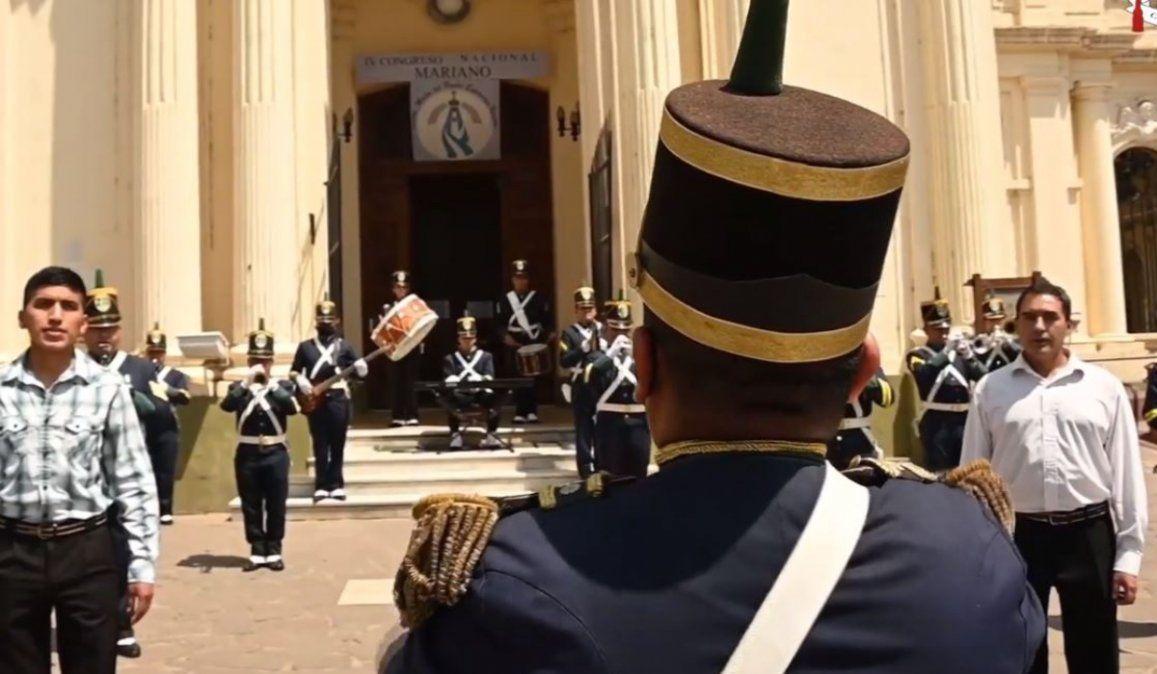 La Banda del Ejército celebró a la Virgen de Río Blanco, patrona de Jujuy