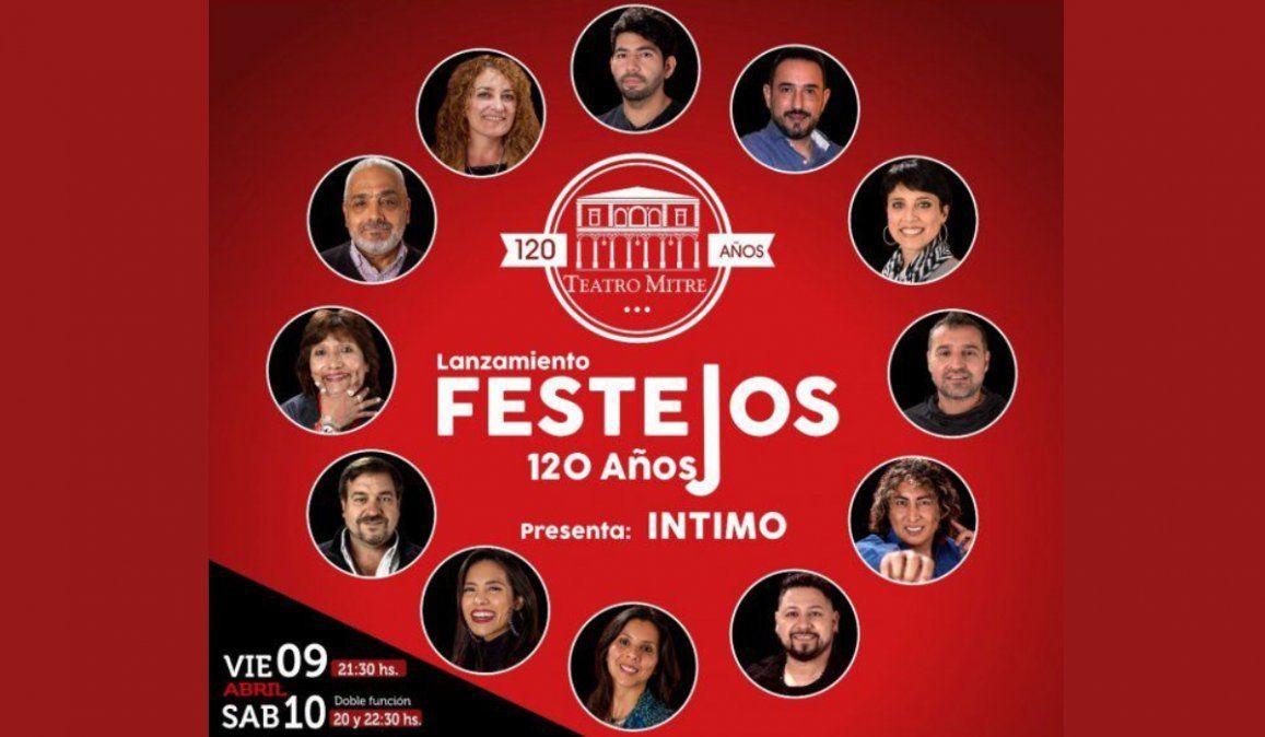 Grandes artistas abren los festejos por los 120 años del Teatro Mitre