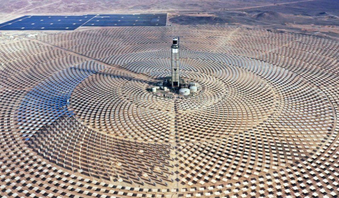 Chile a punto de abrir la primera planta termosolar de América Latina