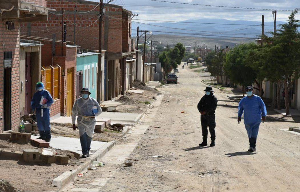 La Quiaca: Estallido de casos y medidas restrictivas