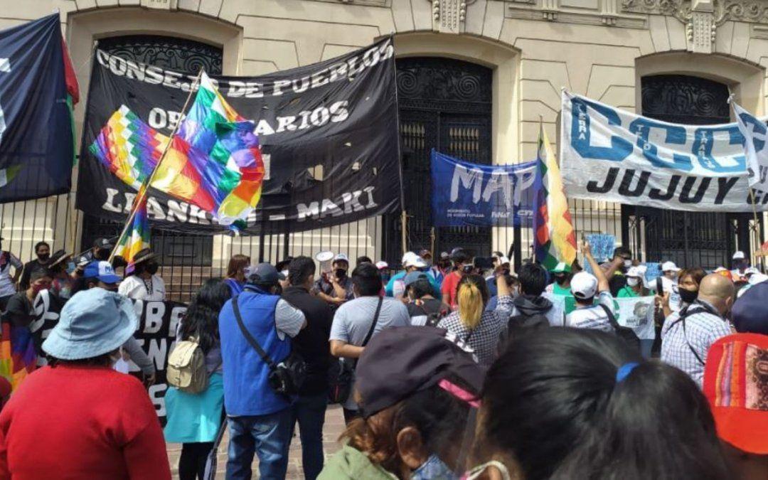 Organizaciones sociales marcharon contra la criminalización de la protesta