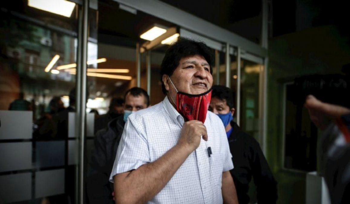 Evo Morales dejó Argentina y llega este sábado a Venezuela
