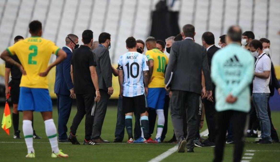 Brasil y Argentina tienen seis días para presentar un descargo ante la FIFA
