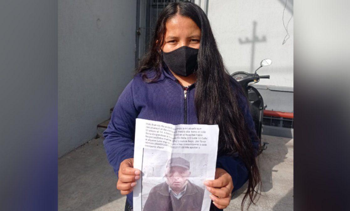 Busca desesperadamente a su abuelo: lo llevó a cobrar, se fue en colectivo y nunca volvió