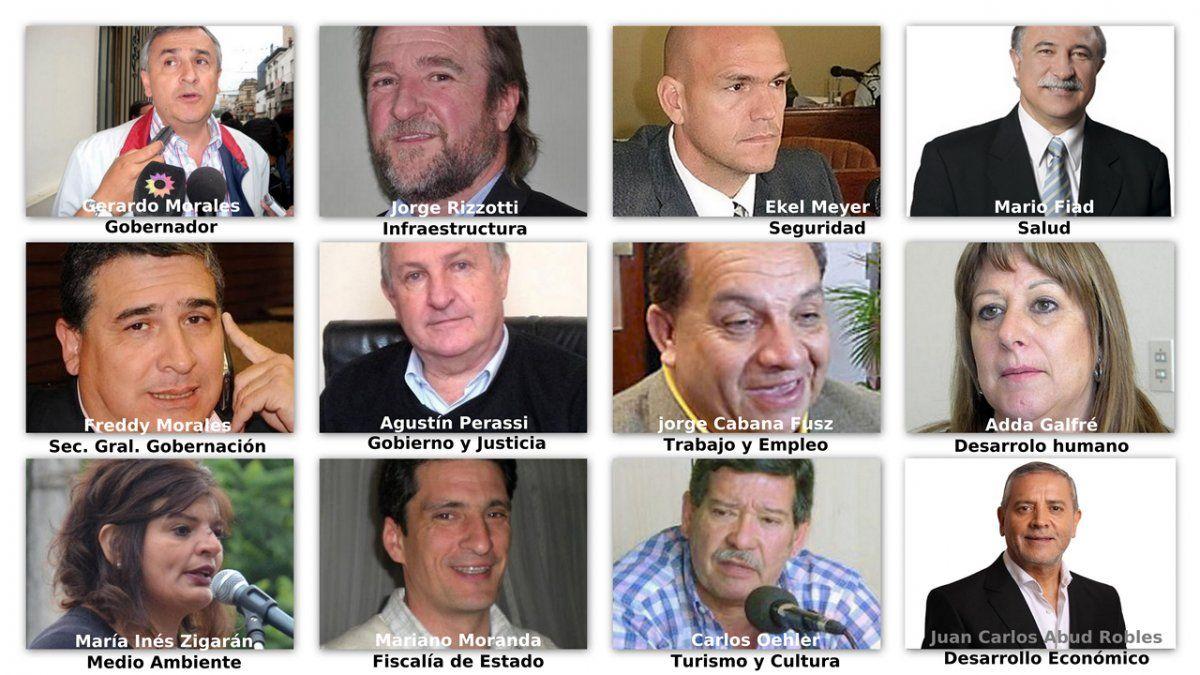 Quién es quién en el gabinete de Gerardo Morales