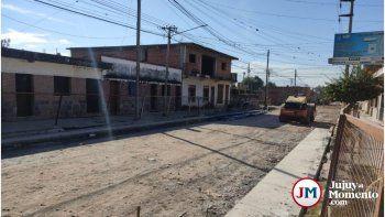 Obra pública en Palpalá: En siete meses se pavimentaron solo dos cuadras