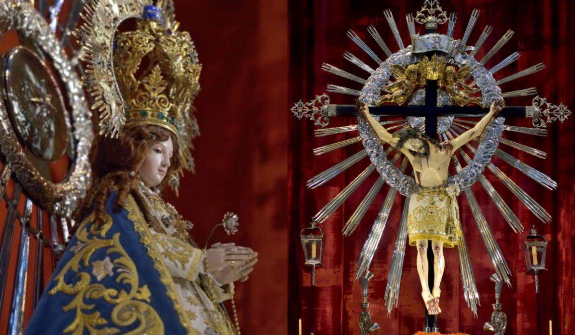 Salta celebra de manera distinta al Señor y la Virgen del Milagro