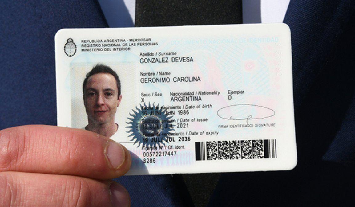 En Jujuy, el DNI para personas no binarias se podrá tramitar desde agosto