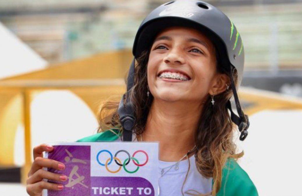 Récord: irá a los Juegos Olímpicos con 13 años de edad