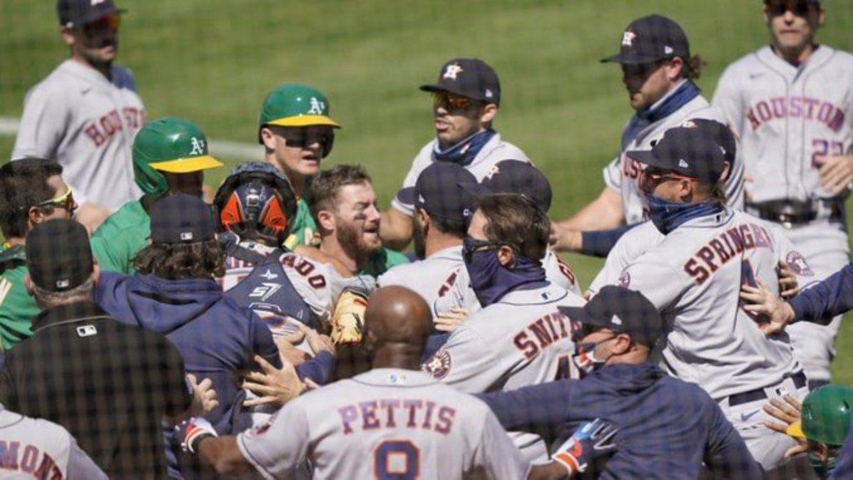 Batalla campal en las Ligas Mayores de Baseball
