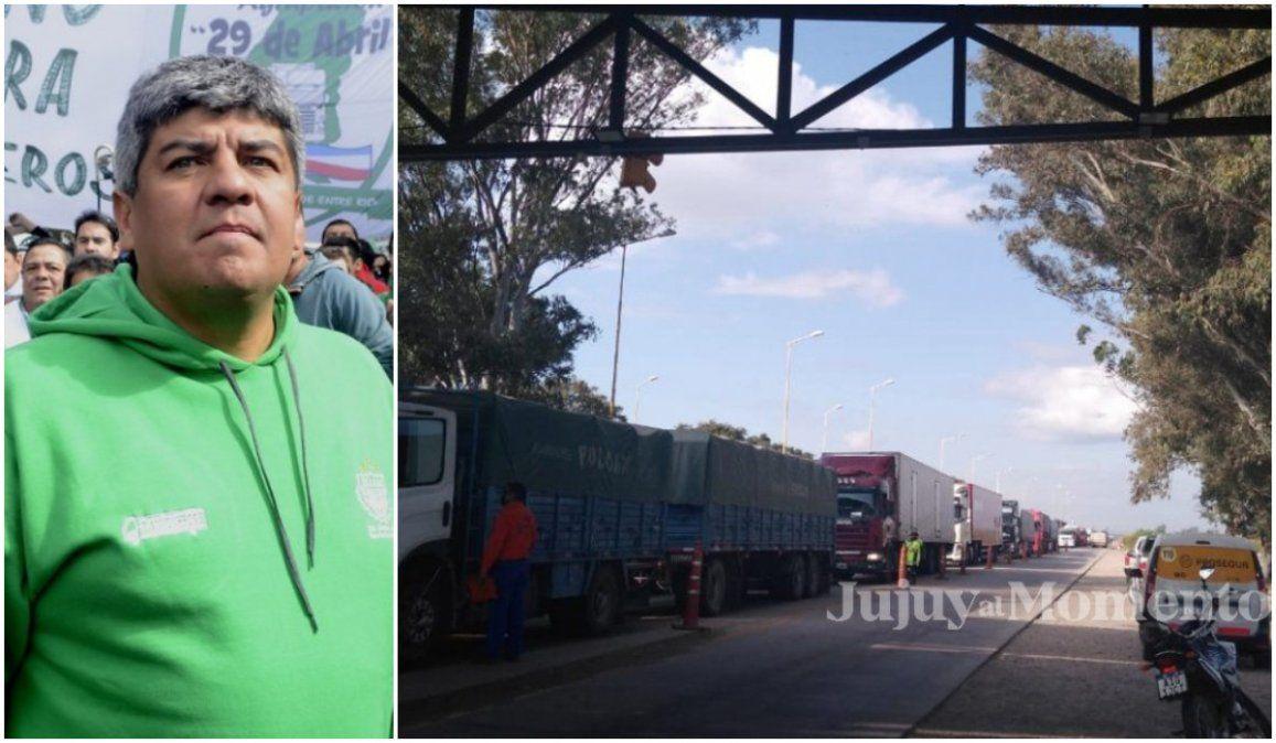 El Sindicato de Camioneros salió al cruce del gobierno por las demoras en los controles