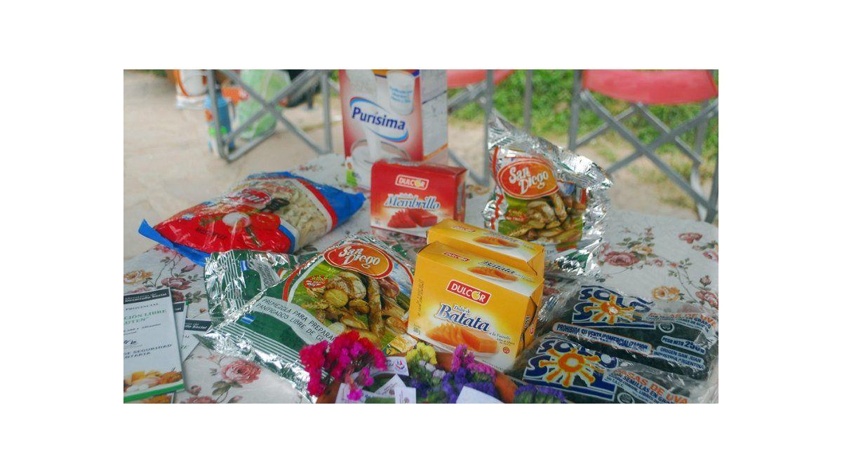 Alimentos para celíacos disponibles en Palpalá