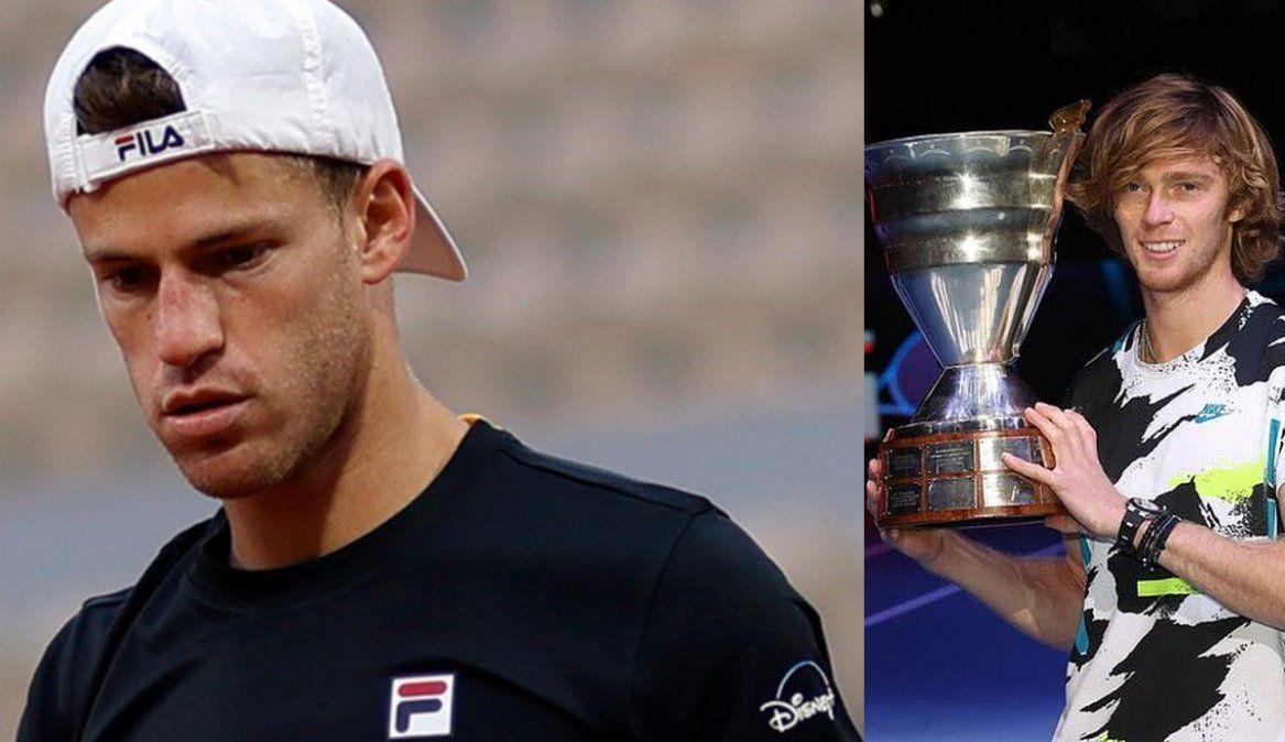 Schwartzman cae un puesto del top ten del ranking ATP