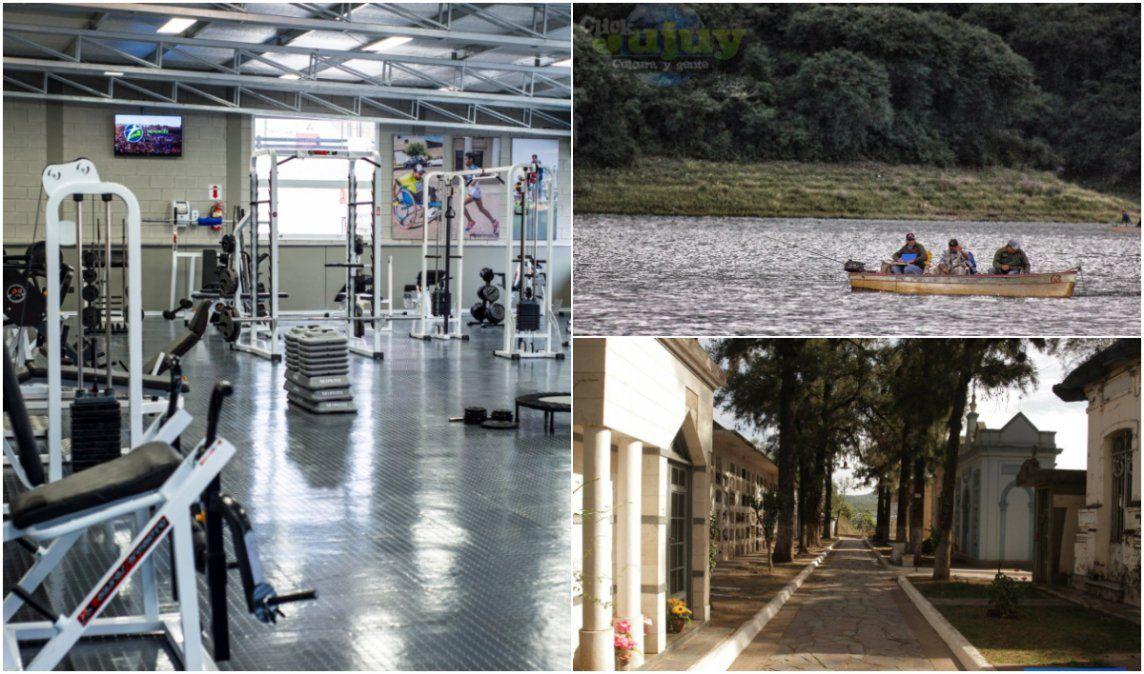 Jujuy habilita más actividades: apertura parcial de gimnasios, pesca comercial y cementerios