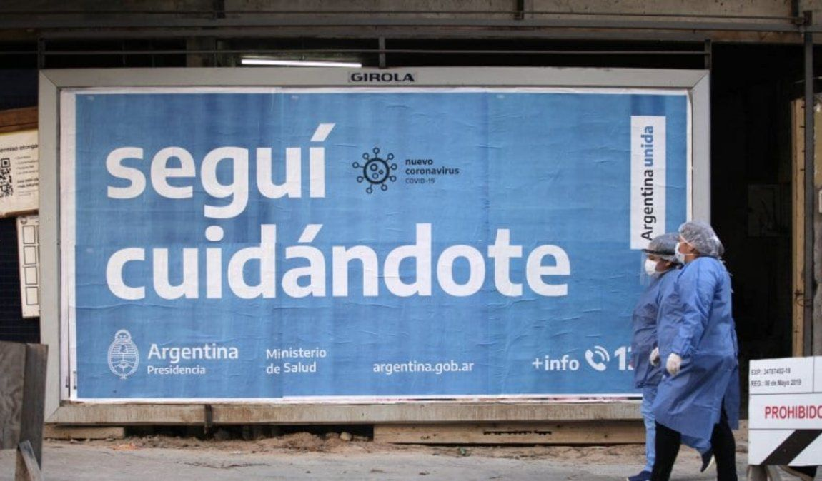 Argentina registró 6.134 nuevos casos este sábado y 113 fallecidos