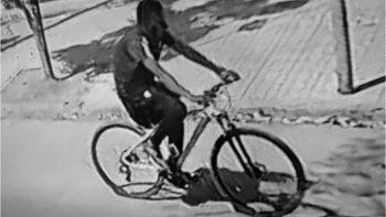 Conocido delincuente fue atrapado circulando en bicicleta