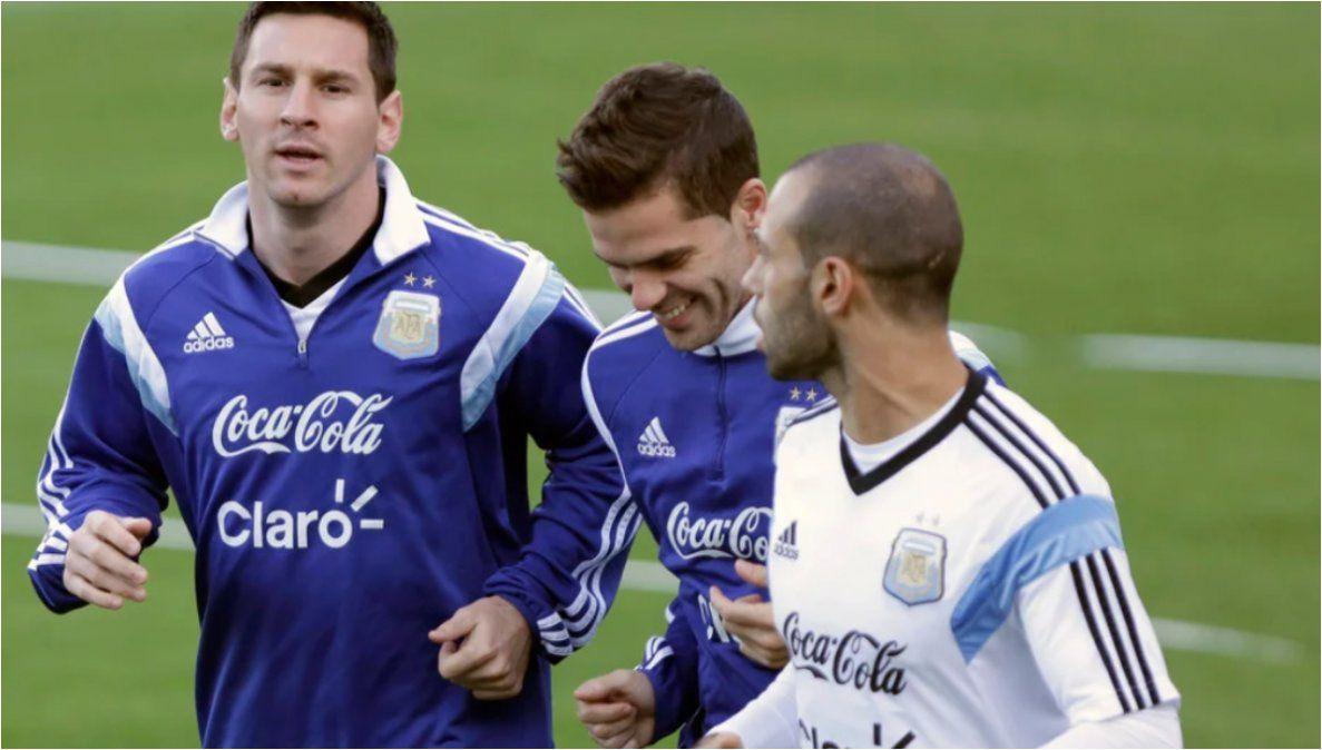 Messi y un emotivo mensaje por los retiros de Gago y Mascherano