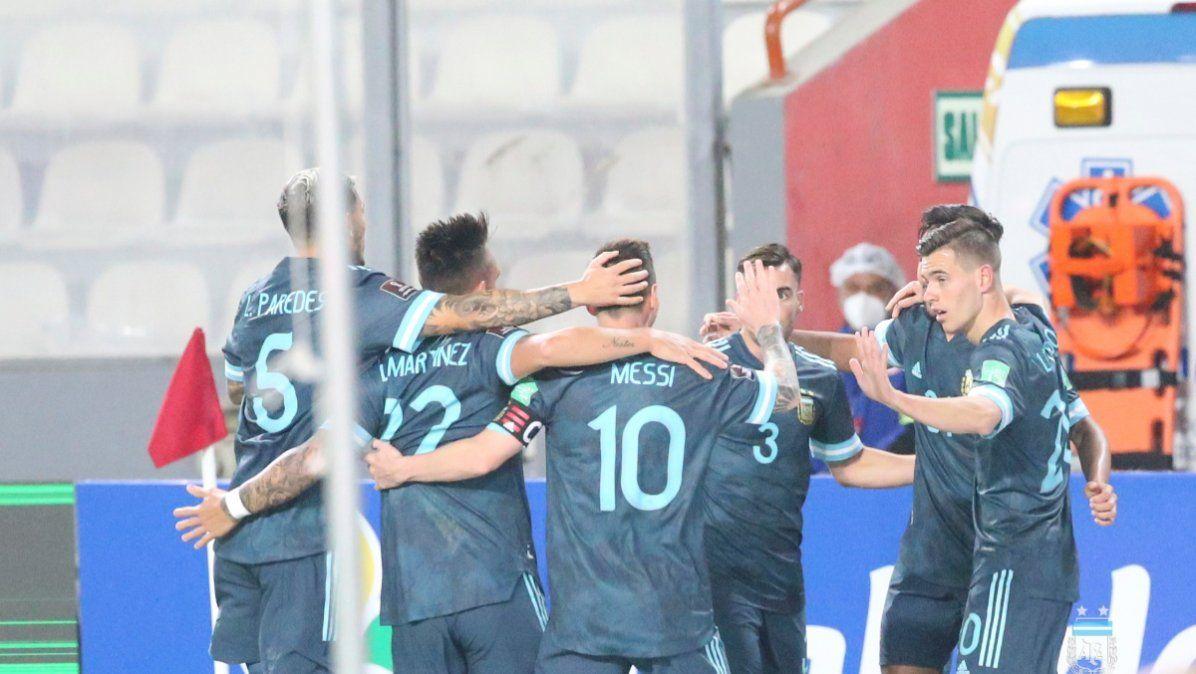 La Selección Argentina se mantiene en el séptimo puesto del ranking FIFA