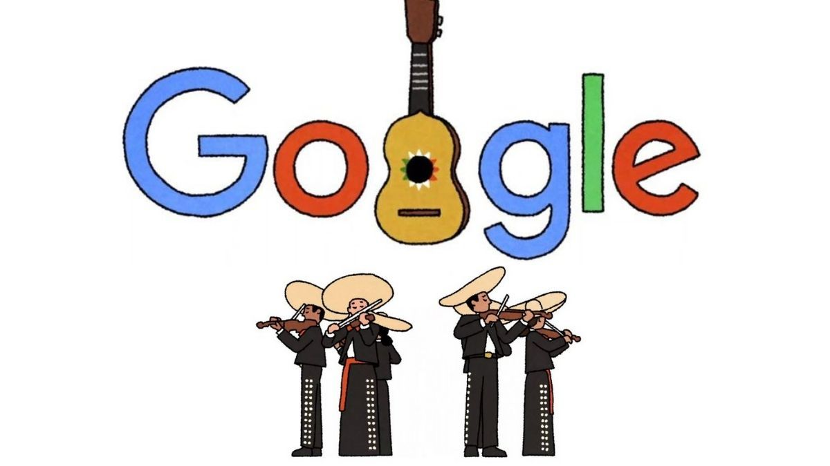 Google homenajeó al Mariachi mexicano con su doodle