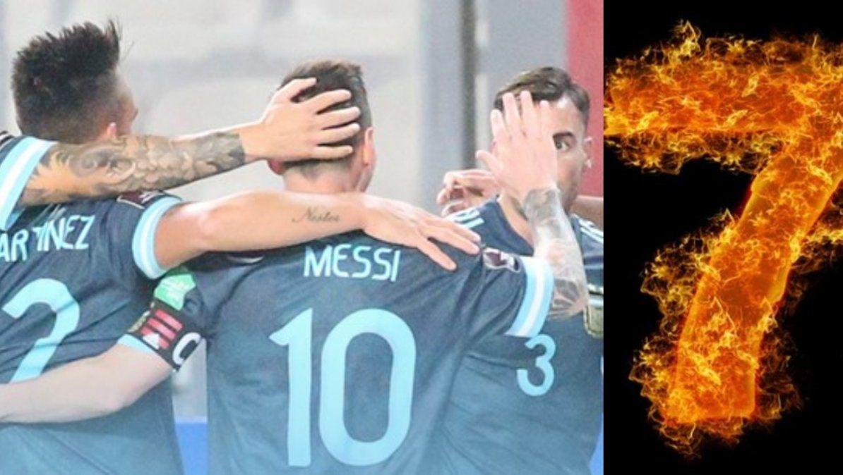 Argentina volvió a subir un puesto en el ranking FIFA