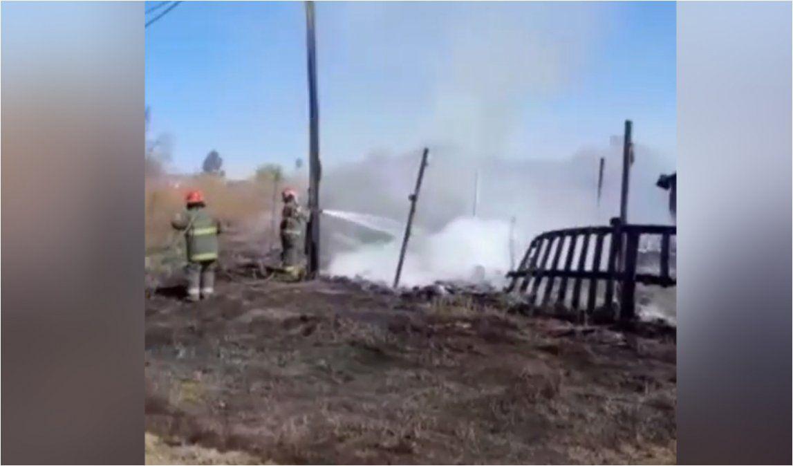 Incendios por quema de pastizales generaron alerta en los vecinos de Palpalá