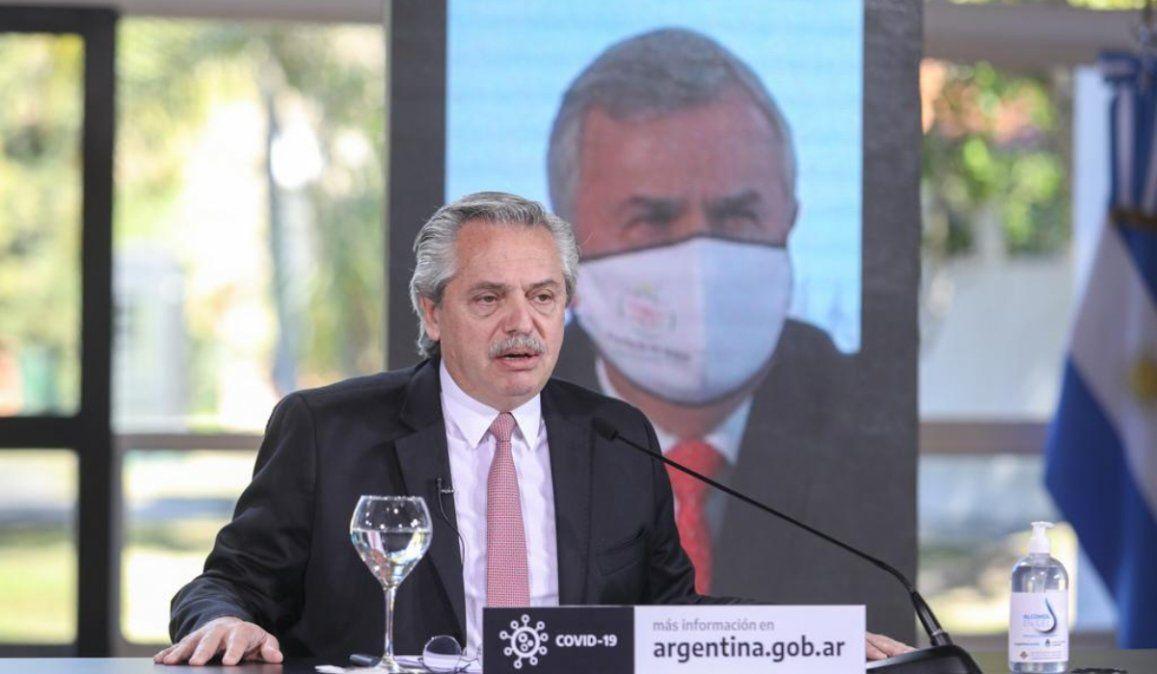 Alberto Fernández y Gerardo Morales: guiños en la pandemia