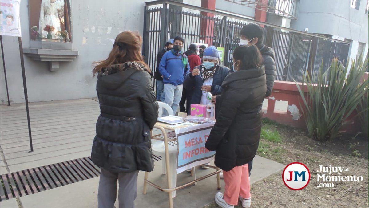 Comenzaron a vacunar en el municipio capitalino