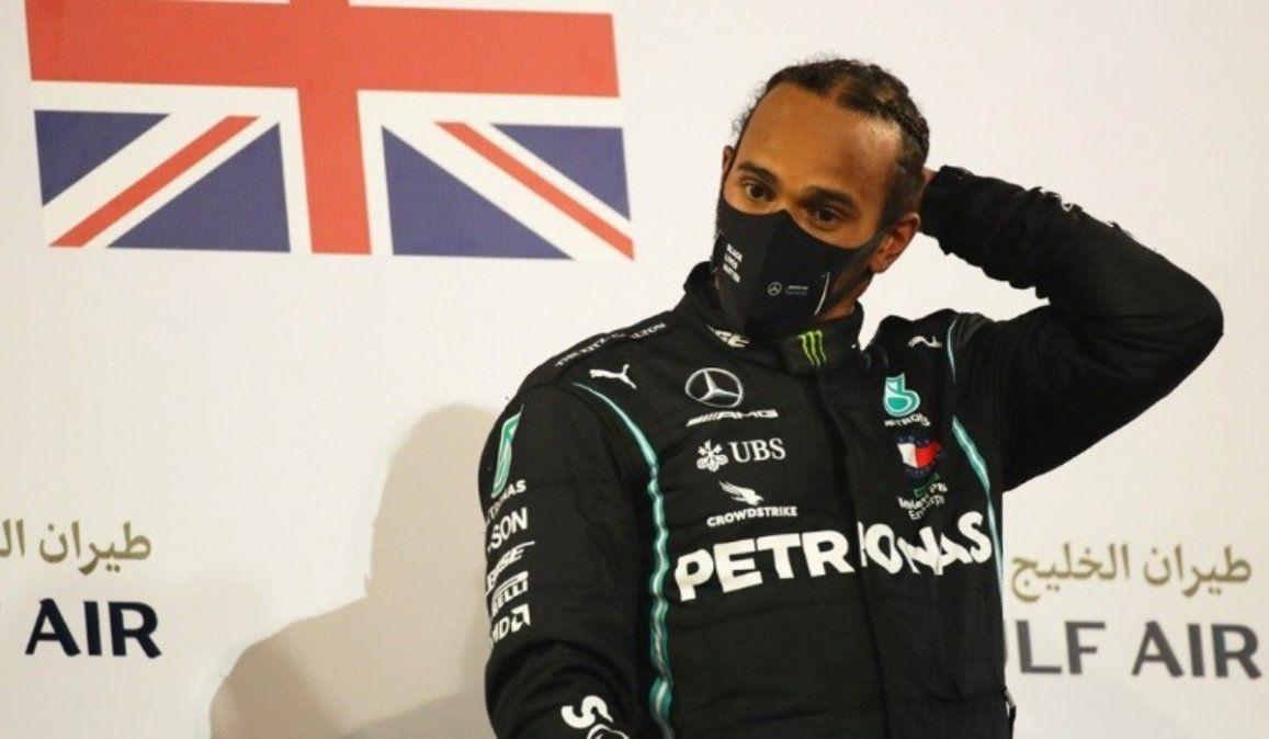 Alerta en la Fórmula 1: Lewis Hamilton dio positivo de coronavirus