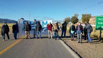 Municipales reclaman en rutas de toda la provincia