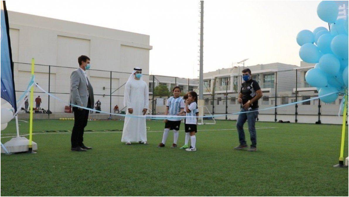 Dubai, primera parada de las academias tecnológicas de la AFA