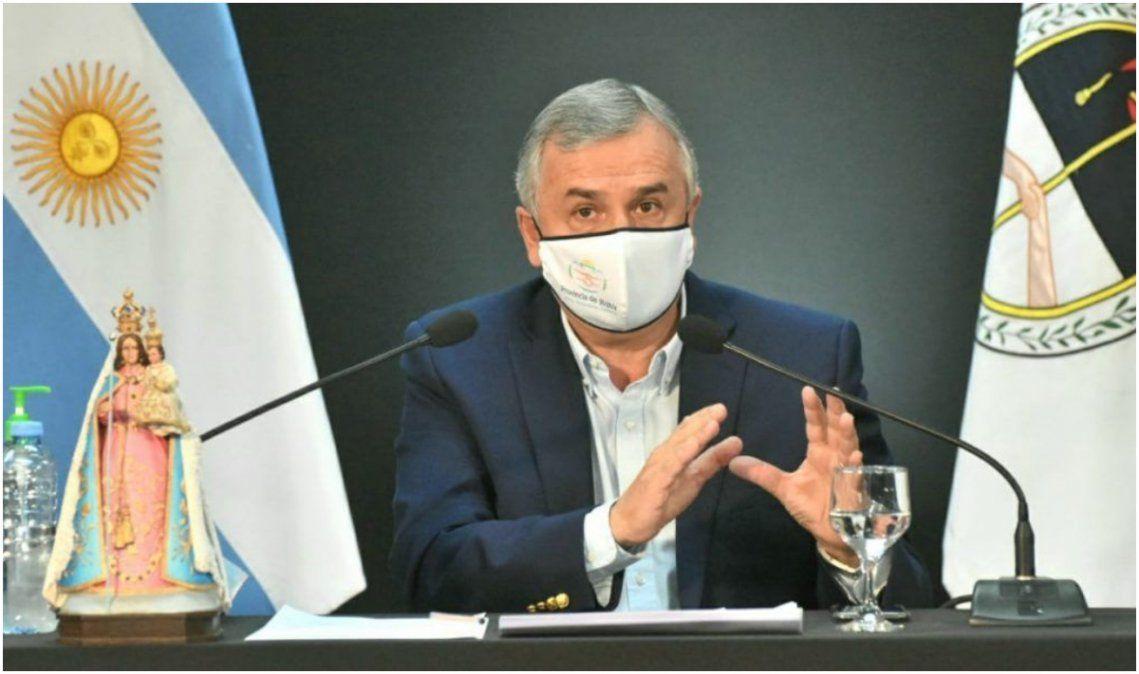 Gerardo Morales tiene coronavirus