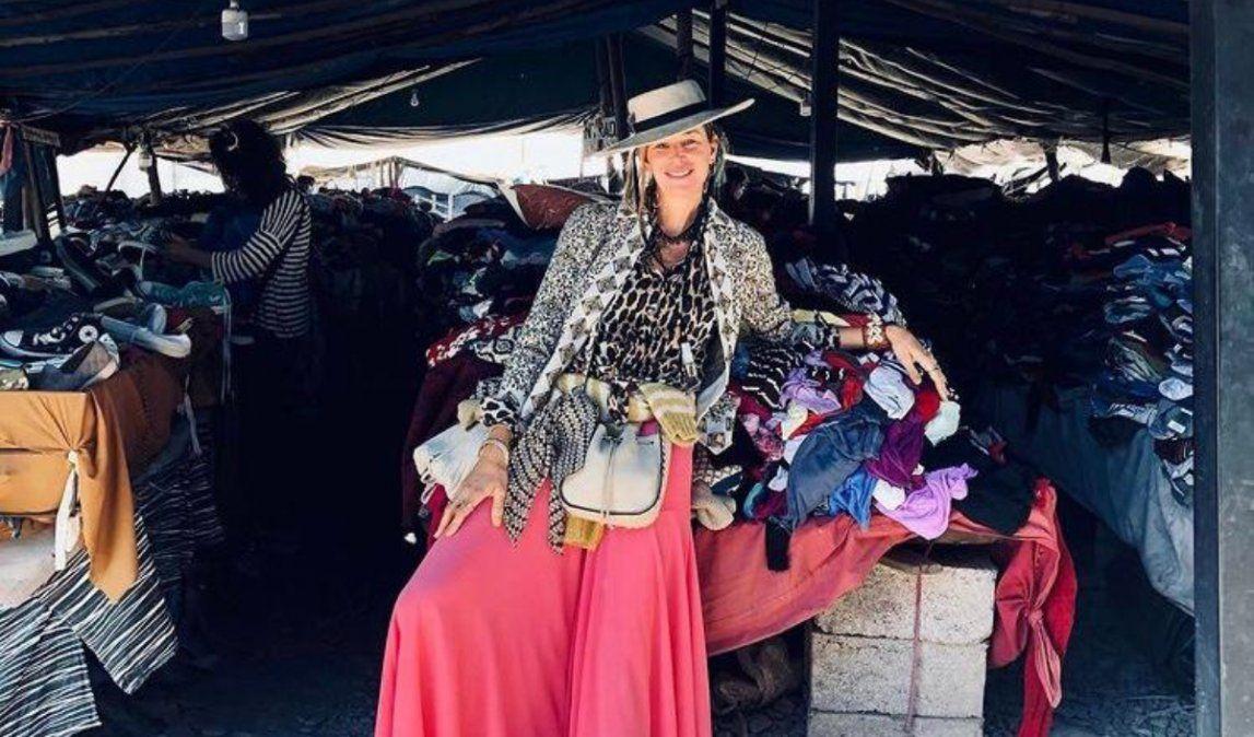 Furor en las redes por Dolores Barreiro en la feria de Alto Comedero