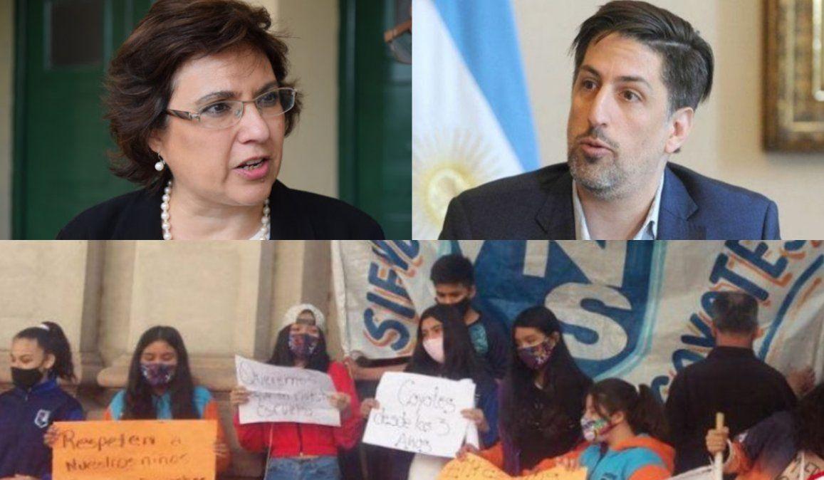 Trotta ratifica el inicio de clases para una provincia que decide el futuro de los niños por sorteo