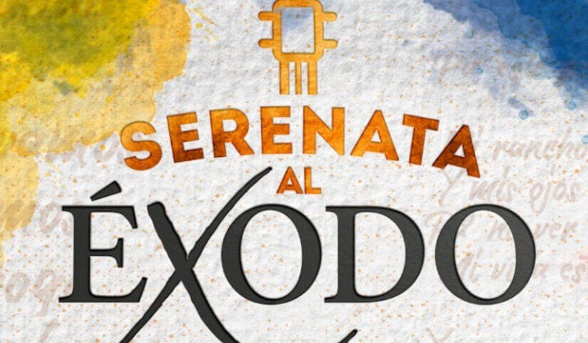 Este sábado Canal 2 transmite la Serenata al Éxodo Jujeño