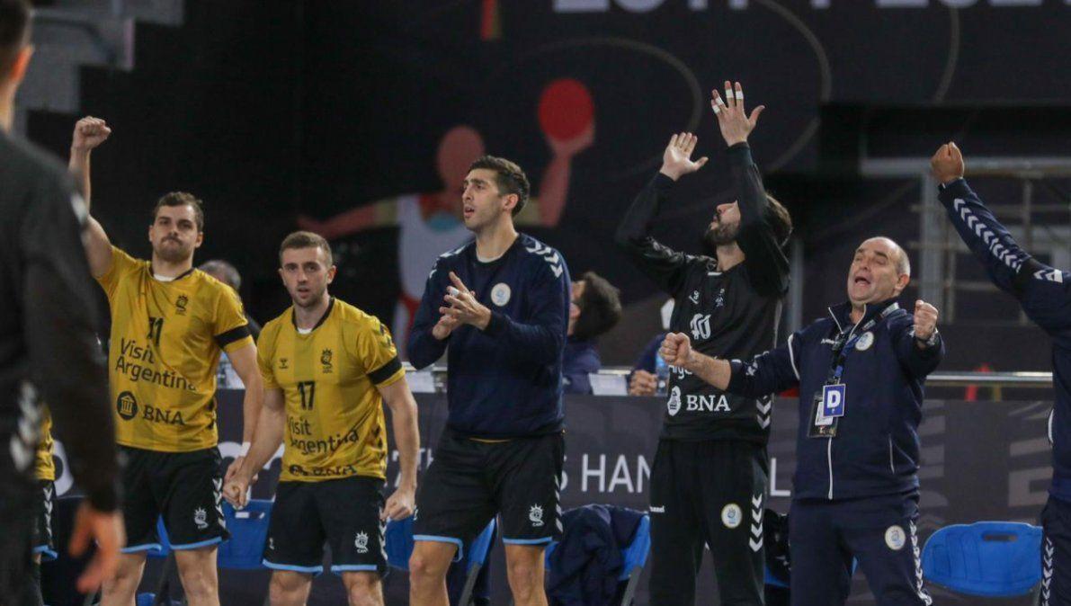 Argentina no pudo con el actual campeón en Egipto