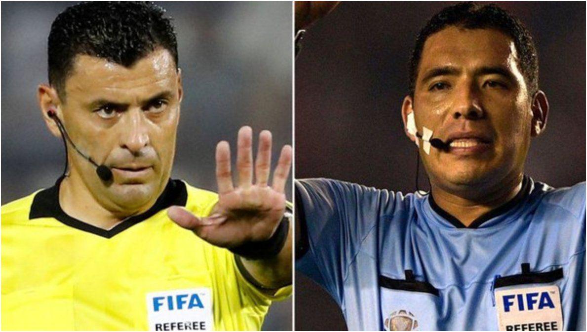 Tobar y Haro, los árbitros de Argentina en Eliminatorias