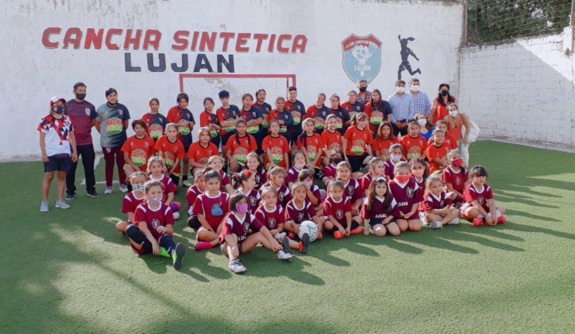 Furor por el fútbol femenino en Luján y un sueño: crear la Liga infantil