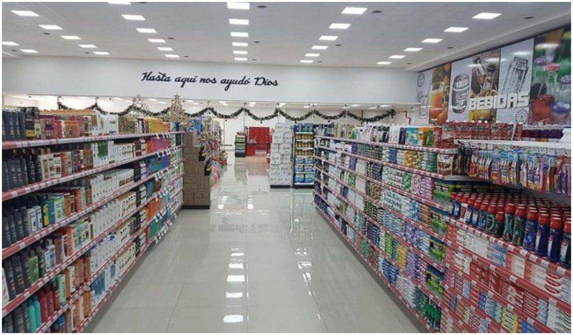 Las ventas en supermercados crecieron 5% y en shoppings se desplomaron 95%