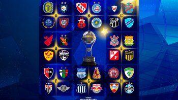 Sudamericana inédita: comienza la fase de grupos