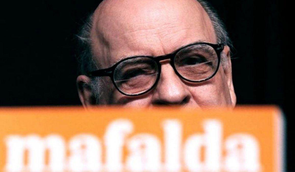 Murió Quino, el creador de Mafalda
