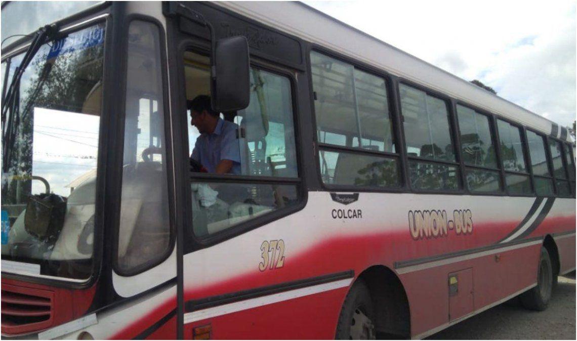 Con compromiso de pago, choferes de Unión Bus también levantaron el paro
